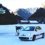 conduite sur circuit glace