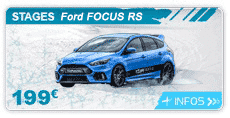 image liens FOCUS RS subaru stage pilotage circuit glace