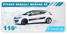 lien stage pilotage glace clio RS